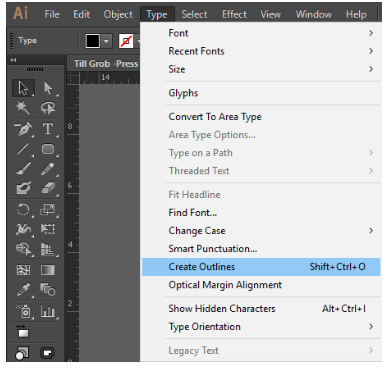 Creating a text outline for your custom package.
