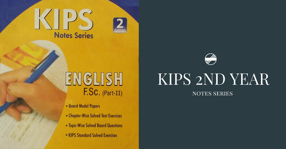 Second Year KIPS English Notes/Guide PDF | Pakget
