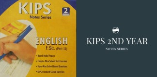 KIPS English Book For Entry Test