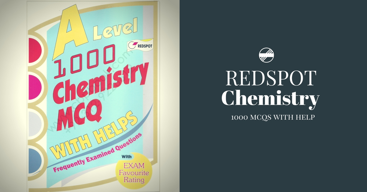 Redspot Chemistry 1000 MCQs With H3lps PDF | Pakget