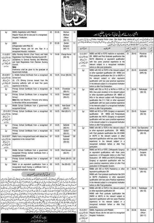 www pof gov pk application form 2018