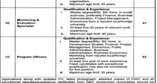 Punjab Planning And Development Department Jobs 2019 Advertisement