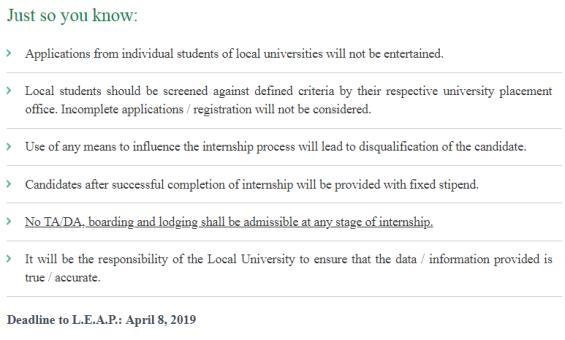 PSO LEAP Internship Program 2019 Apply Online Pakistan State Oil