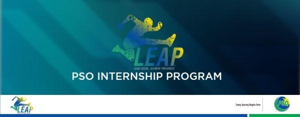 PSO LEAP Internship Program online apply