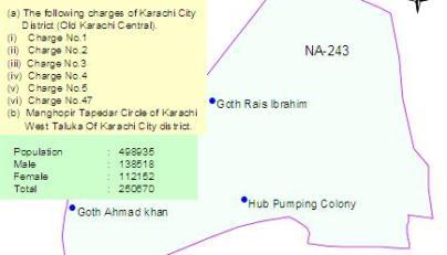 NA-244 Karachi Results, Maps, Candidates – Paki Mag