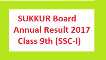Board result sukkur 2015 bise sheet BISE Sukkur