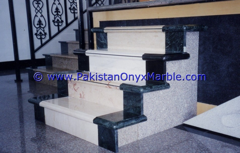 Marble Stairs Steps Risers Beige Marble Modern Design Home Office   Staircase Steps Granite Design   Italian Marble Step   Elegant   Balcony   Moulding   Small House