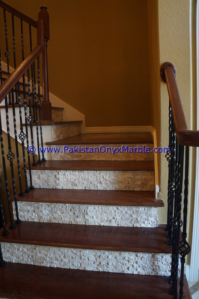 Marble Stairs Steps Risers Mosaic Tiles Marble Modern Design Home   Stairs Tiles Design For Home   Outside Staircase   Stair Tread   Color   Exterior   Custom