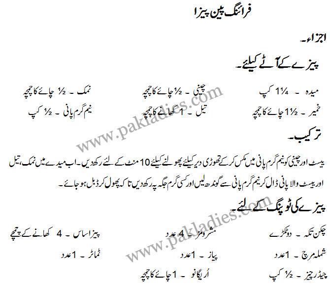 Simple cake recipes in urdu
