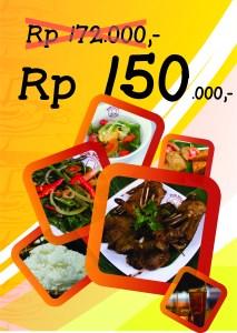 Paket Hemat kuliner BSD Tangerang