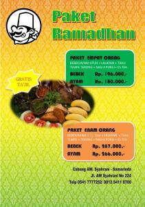 Paket Ramadhan di Samarinda