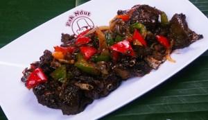 kuliner bebek lada hitam