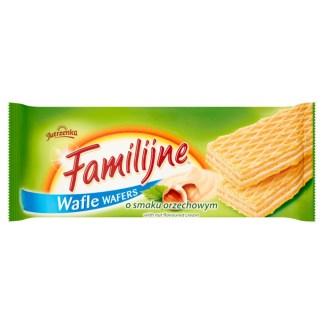 JUTRZENKA Wafle Familijne o smaku orzechowym 180g
