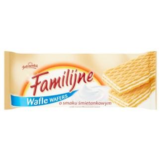 JUTRZENKA Wafle Familijne o smaku śmietankowym 180g