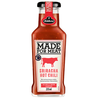 KUHNE Sos Sriracha Hot Chili Made For Meat Do Grilla Dipów i Marynat 235ml