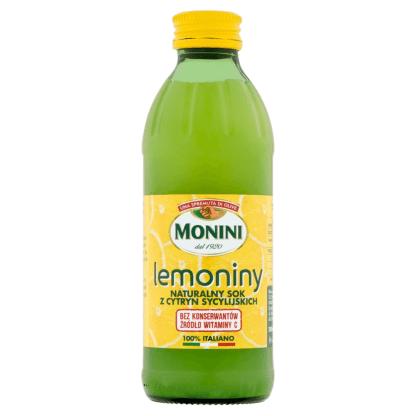 MONINI Lemoniny Sok z Cytryn 240ml