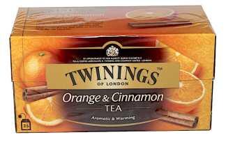 TWININGS Herbata czarna Pomarańcza Cynamon 25 torebek Pakomarket