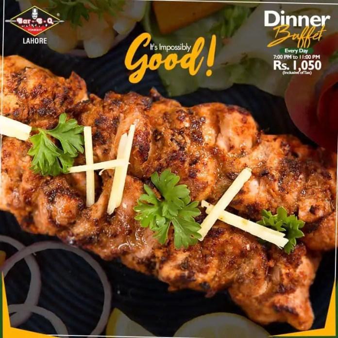 BBQ Tonight Lahore , best lebanese restaurant lahore