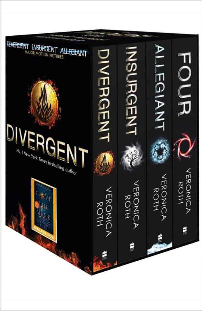 Divergent, Allegiant, Insurgent, Four, Veronica Roth, must read before you die