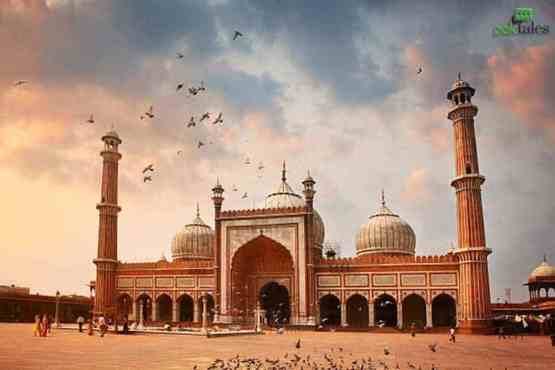 largest mosque in india