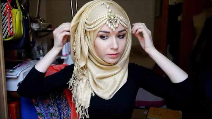 Face shape, fashionable hijab,