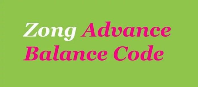 balance check zong code
