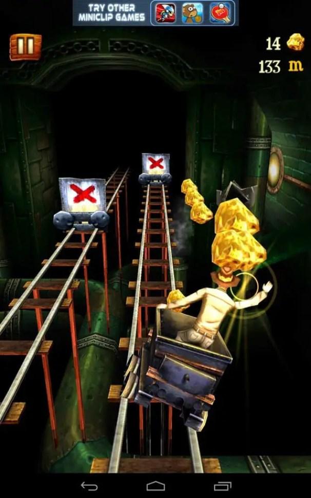 fun games like subway surfers, Rail Rush