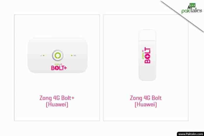 zong 3g wingle packages