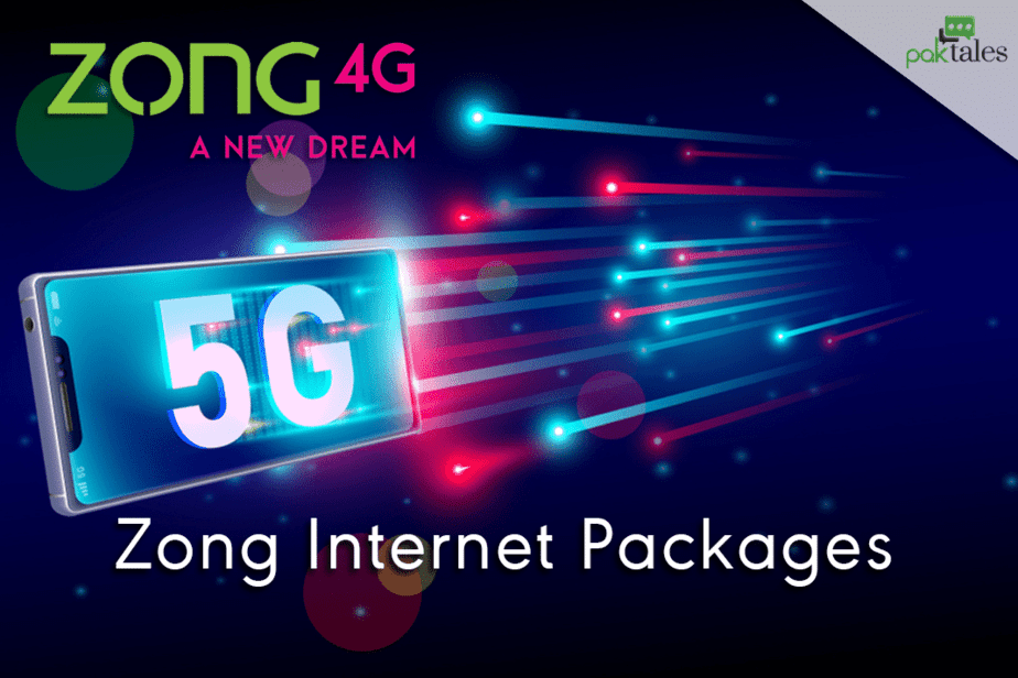 zong internet packages, zong monthly internet package, zong weekly internet package, zong daily internet package, zong 4G internet packages