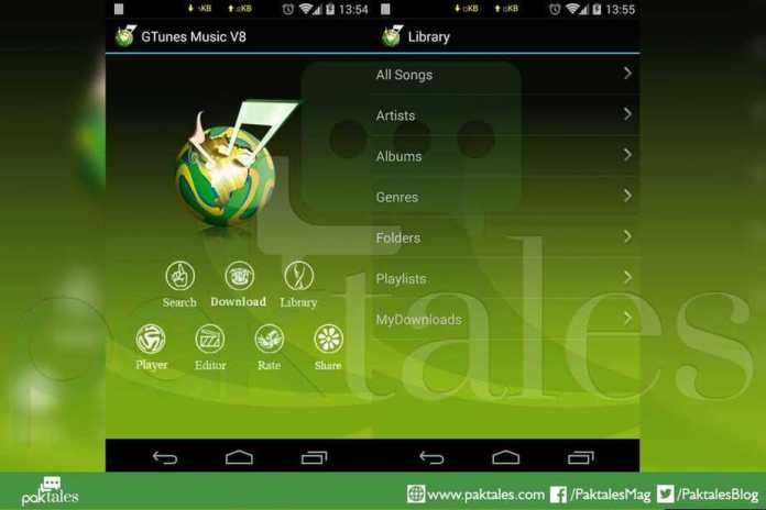 free music for android, GTunes