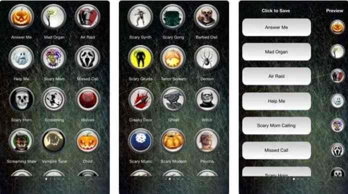 scary ringtones iphone