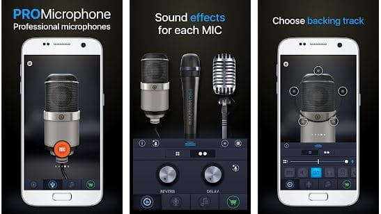 android microphone settings