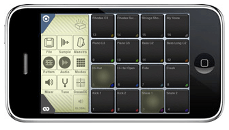 Beatmaker on the iPhone