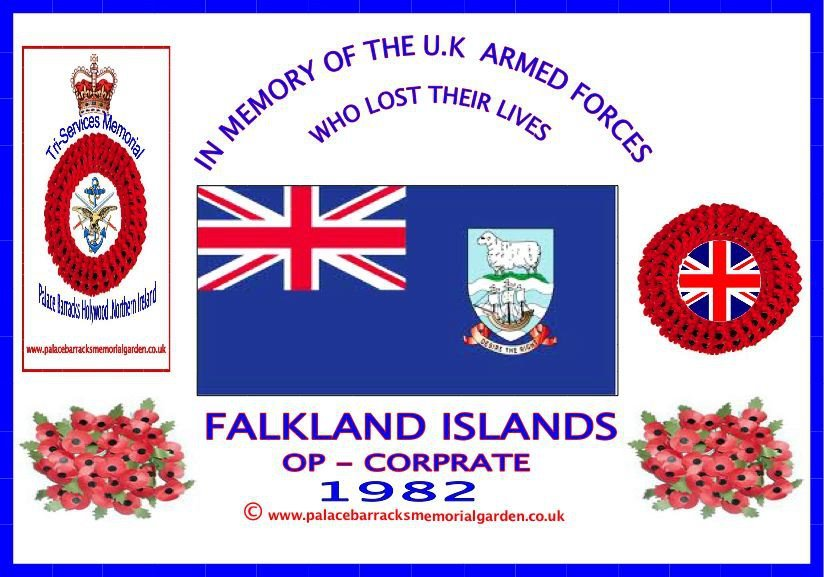 JUNE 1982 FALKLAND ISLANDS