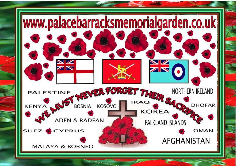 WE MUST NEVER FORGET THEM