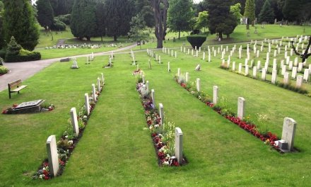 THIRTY YEARS LATER ALDERSHOT MILITARY CEMETERY