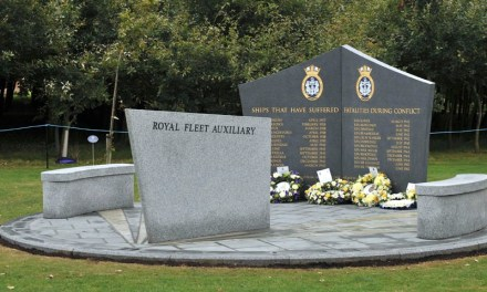 ROYAL FLEET AUXILIARY MEMORIAL.