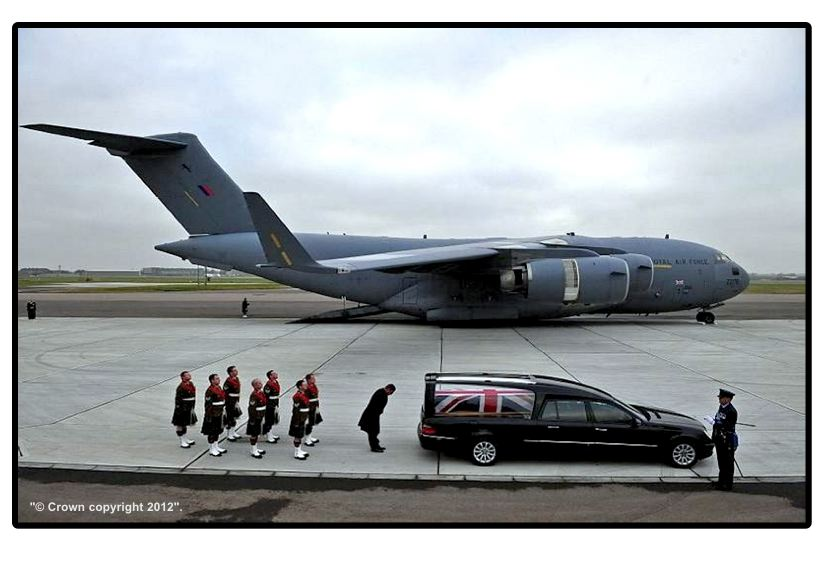 The Late Captain Barrie comes home