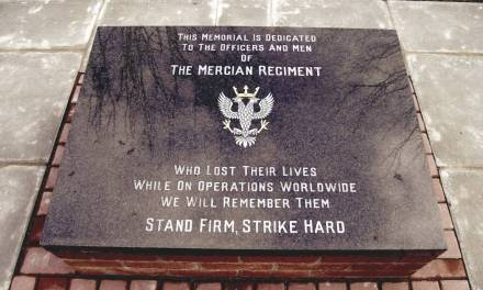 Mercian Regiment Memorial
