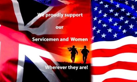 WE SUPPORT OUR SERVICE MEN AND WOMEN