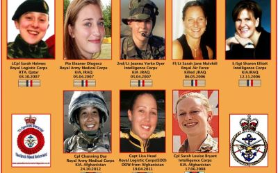 8 HEROINES WHO LOST THEIR LIVES IN IRAQ AND AFGHANISTAN