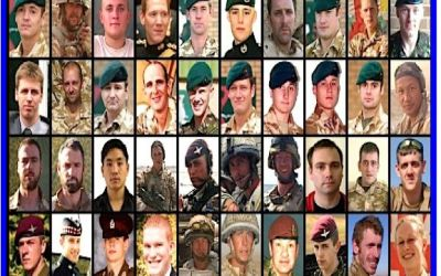 Another 80 Heroes who where Killed in Afghanistan