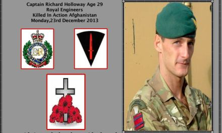 LATEST SERVICEMAN KILLED IN AFGHANISTAN NAMED