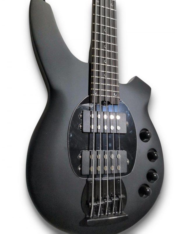 Custom Black Metal BG-Style Electric Bass Guitar - Palace ...
