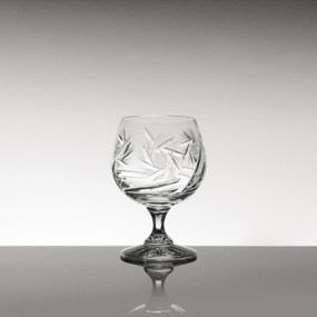 Set pahare coniac din cristal Bohemia - Imperial