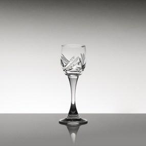 Set pahare lichior din cristal Bohemia - Ambrozie