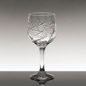 Set pahare vin rosu din cristal Bohemia - Imperial New