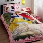 lenjerie de pat copii din bumbac Snow White Love - Paladin Store