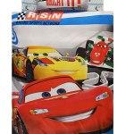 Lenjerie de pat copii TAC Disney - Cars Racing