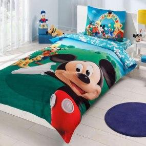 Lenjerie de pat copii TAC Disney - Clubul lui Mickey Mouse